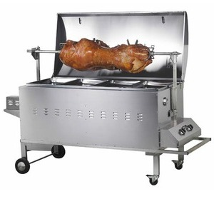 large spit roast